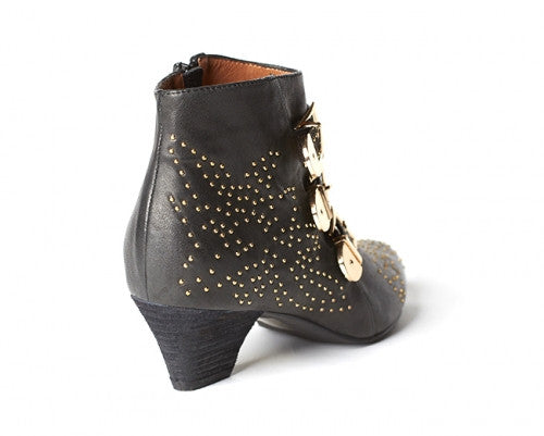 Jeffrey Campbell Starburst - Black/Gold - Shoe Market NYC