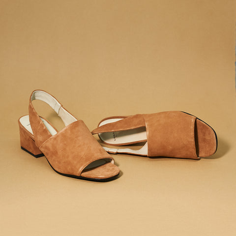 Elena slingback by Vagabond Shoe Makers in Nougat