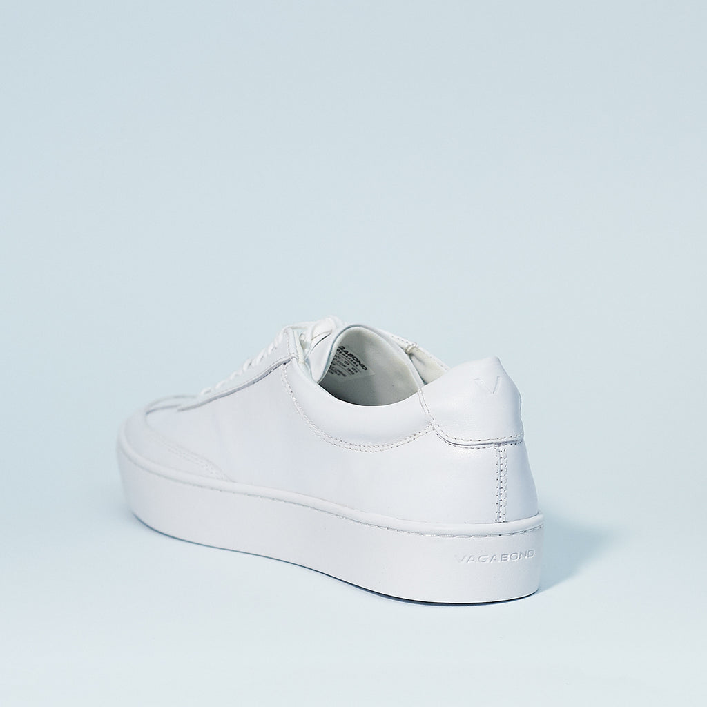 Zoe sneaker by Vagabond Shoe Makers in white leather