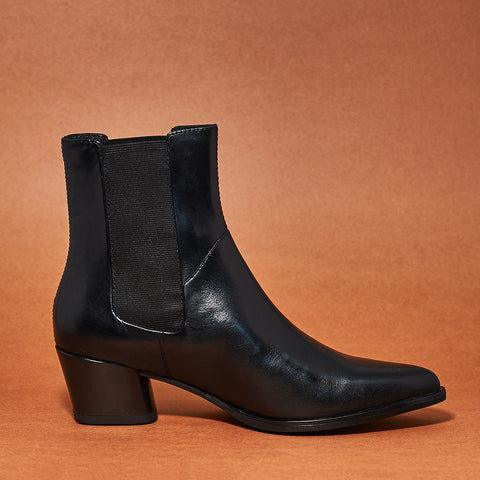 Lara boot by Vagabond in Black - Shoe Market NYC