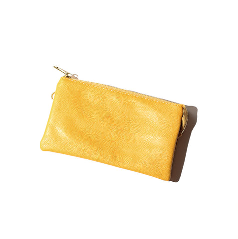 Proya Three Way Convertible Clutch Yellow