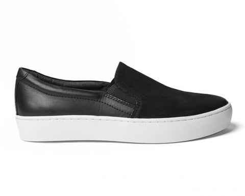 Vagabond Zoe Slip On - BLK Leather/Suede - Shoe Market NYC