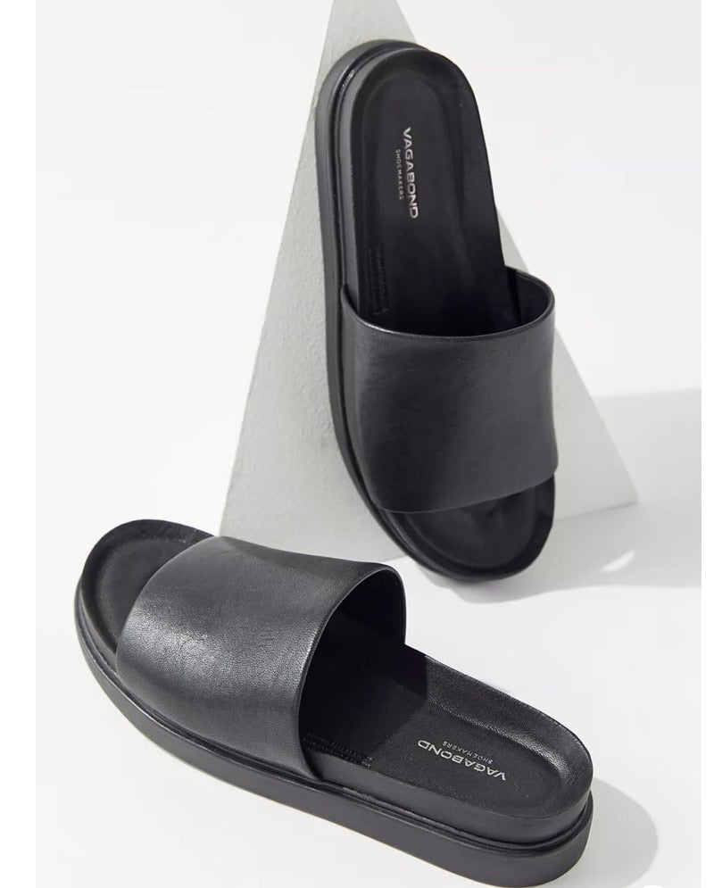 ERIN SLIDE - BLACK