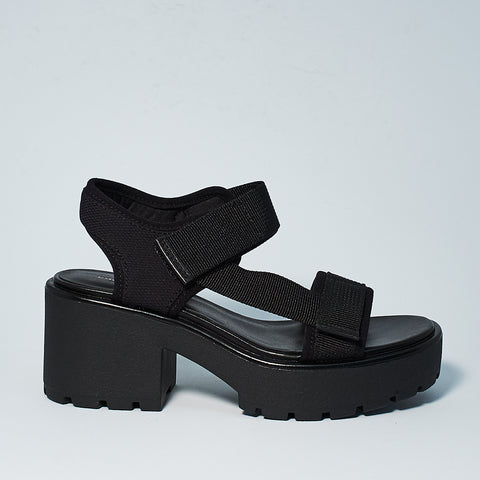 DIOON TEXTILE SANDAL - BLACK