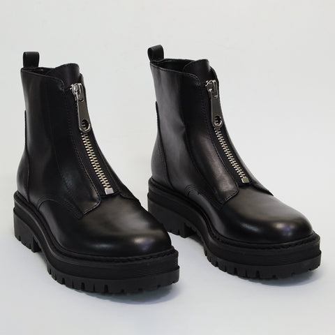 PARALEE ZIP BOOT - BLACK