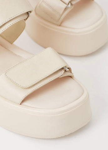 COURTNEY SANDAL - OFF WHITE