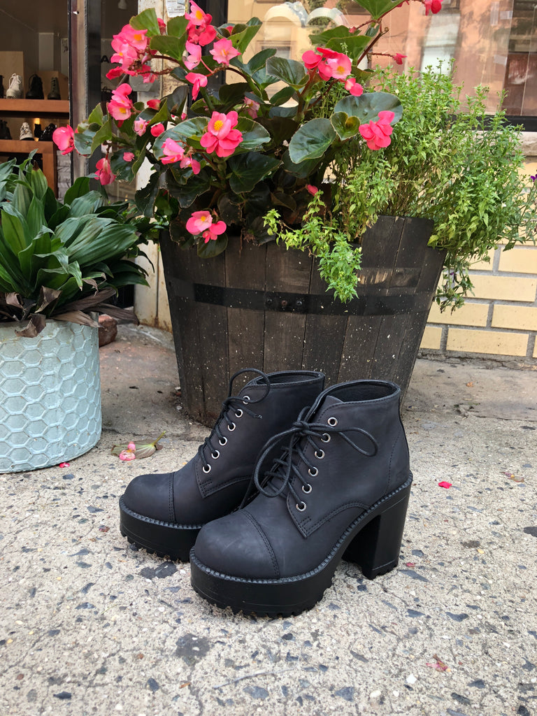 Pampas by ROC in Black Buff - Shoe Market NYC