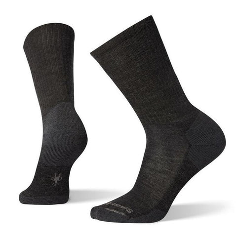 HEATHERED RIBBED MEN'S - BLACK