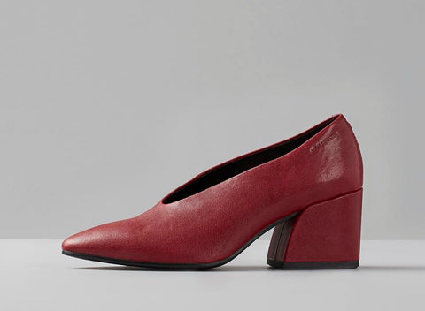 Olivia Pump in Red - Shoe Market NYC