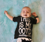 ***Frequently Famous Tee, Black- ( Infant, Toddler, Youth)