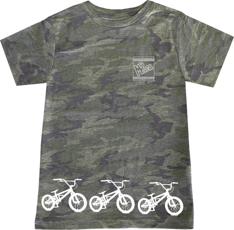 BMX Track Tee OR Muscle Tank, Vintage Camo- (6M-Youth XL)