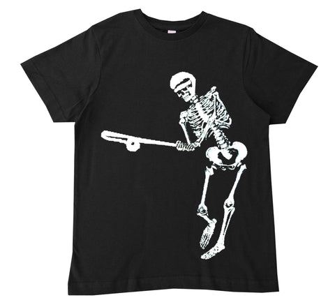 HM-Baseball Skeleton Tee, Black (Infant, Toddler, Youth)