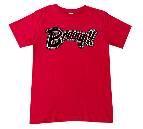 Braaaap Tee,  Red (infant, toddler, youth, adult)