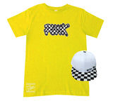 '''Yellow Unisex PUNK Tee- Infant