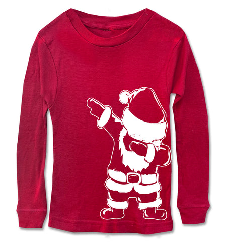 Santa Dab Long Sleeve