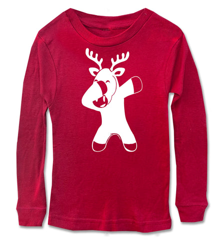 Reindeer Dabbing Long Sleeve