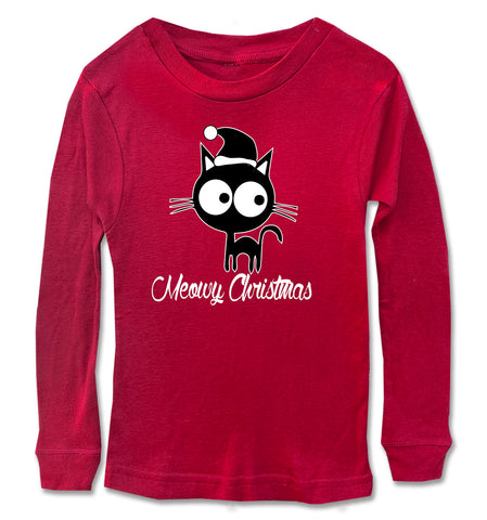 Meowy Christmas Long Sleeve