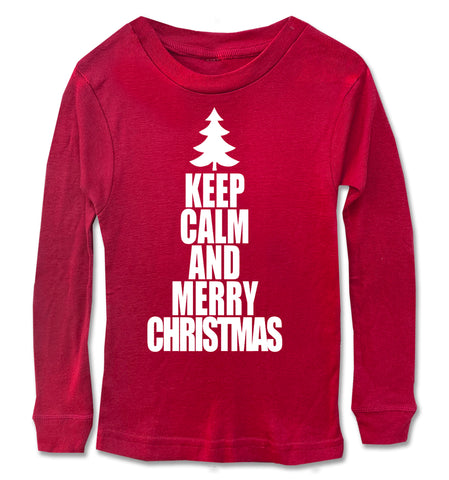 Keep Calm Christmas Long Sleeve