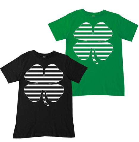 SPDCollab-Striped Clover Tee (Infant, Toddler, Youth)