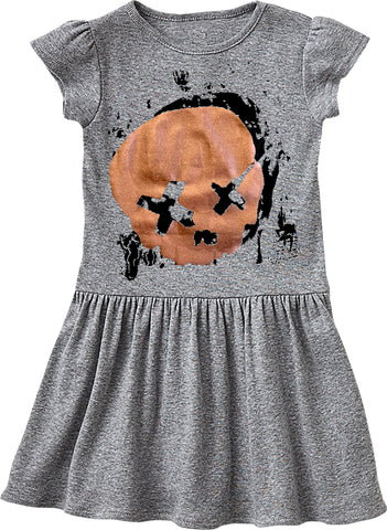Cobain Skull Dress, Heather (Infant, Toddler)