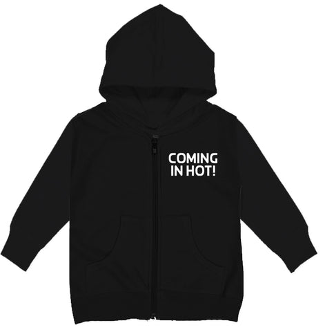 RC-Coming In Hot Zip Hoodie, Black (Infant, Toddler,Youth)