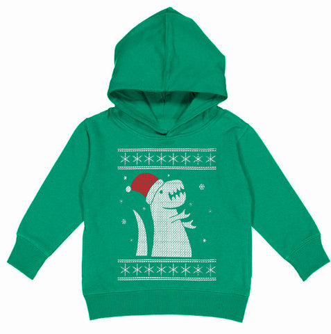 CHR-Dino Hoodie, Green (Toddler, Youth)