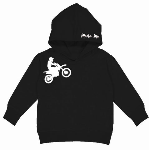 RC-Dirtbiker Hoodie,  Black (Toddler, Youth, Adult)