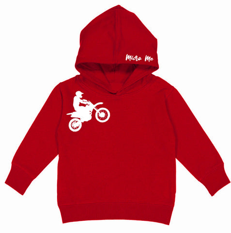 RC-Dirtbiker Hoodie, Red (Toddler, Youth, Adult)