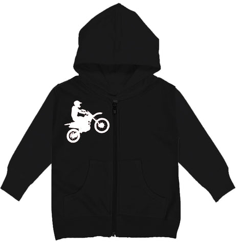 RC-Dirtbiker Zip Hoodie, Black (Infant, Toddler,Youth)