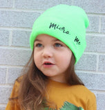 ***Neon Green Beanie, (Medium)