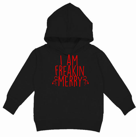 CHR-Freaking Merry Hoodie, Black (Toddler, Youth)