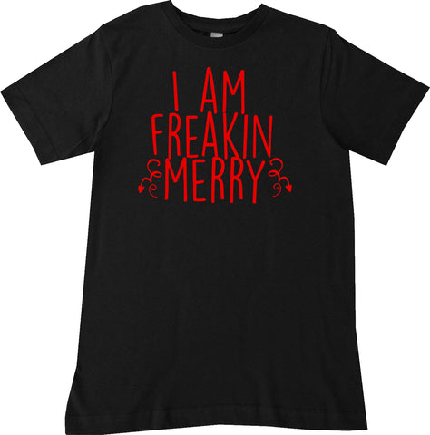 CHR-Freaking Merry Tee, Black (Infant, Toddler, Youth)