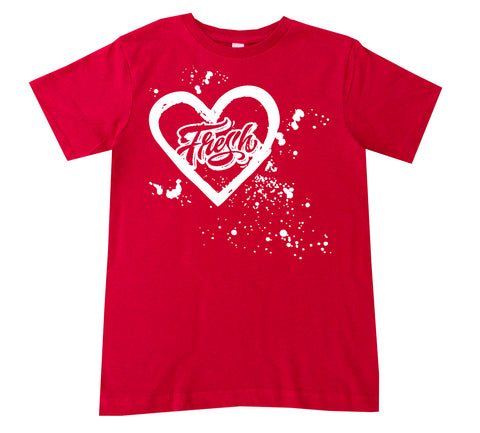 Fresh Splatter Tee, Red (Infant, Toddler, Youth)