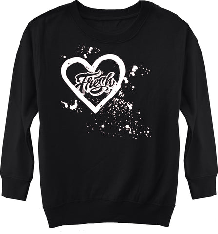 Fresh Splatter Sweater,Black (Toddler, Youth)