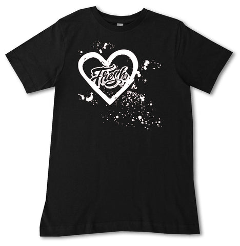 Fresh Splatter Tee, Black (Infant, Toddler, Youth)