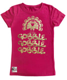 **Gobble Gobble, Hot Pink (infant, toddler, youth)