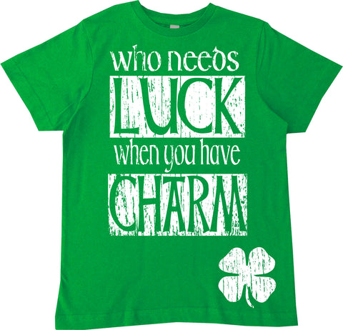 Who Needs Luck  Tee