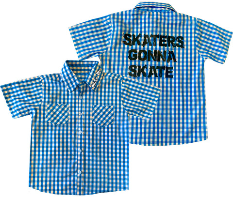 Hawk Skaters Gonna Skate Plaid, (Toddler)