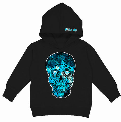 Blue Collab Set- Hoodie,  Black (Toddler, Youth, Adult)