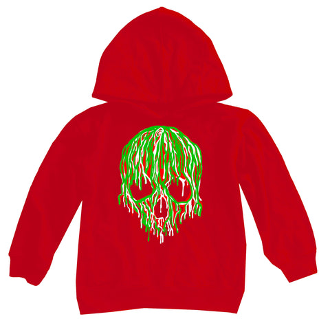 ****Day 12-Adios 2020 Hoodie, Red (Toddler, Youth, Adult)