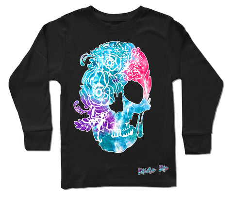 Pink Collab Set- Long Sleeve Shirt, Black (Toddler, Youth)
