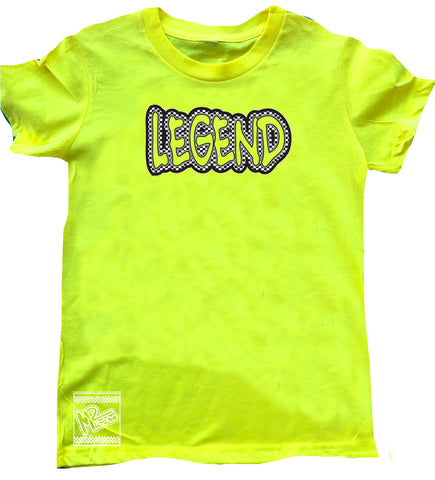 Neon Yellow LEGEND Tee