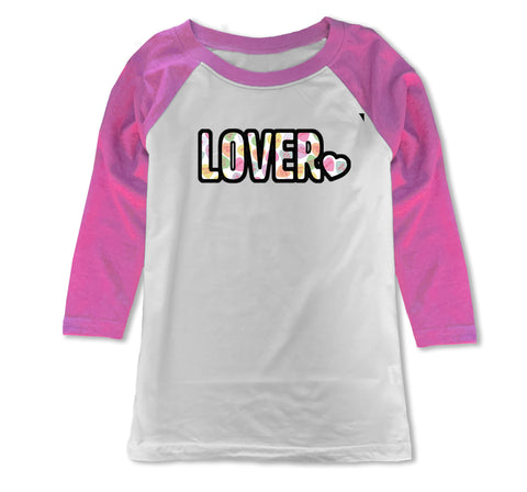 Convo Hearts COLLAB- Lover Raglan, WP (Youth)