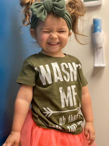 *Wasn't Me Tee, Military (Infant, Toddler, Youth)