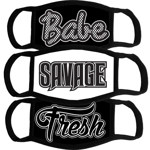Mask Bundle-Babe, Savage, Fresh