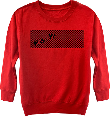 RC-Micro Logo Fleece Sweater, Red (Toddler, Youth)