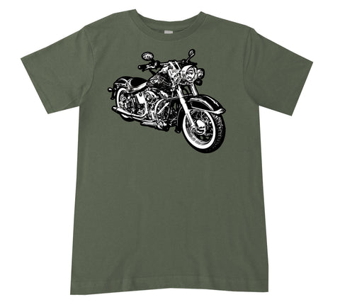 Micro Moto TEE,Military (Infant, Toddler, Youth)