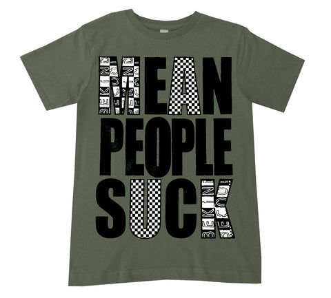 Mean People Suck Tee, Military (Infant, Toddler, Youth)