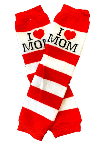 I Love Mom Legwarmers