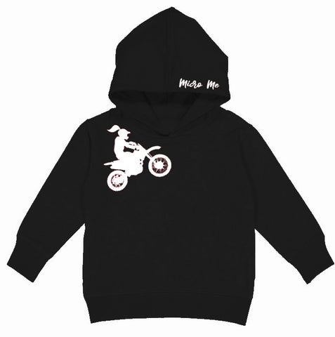 RC-Motogirl Hoodie, Black (Toddler, Youth, Adult)